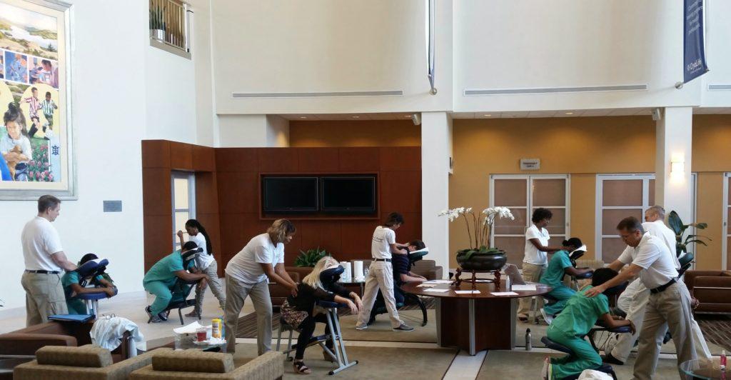 Massage at Office in Atlanta
