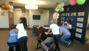 Chair Massage for Customer Appreciation, Atlanta