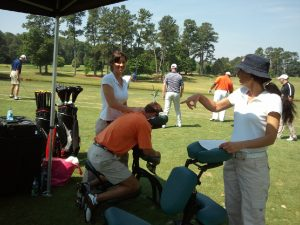 Massage for Sporting Events in Atlanta, GA