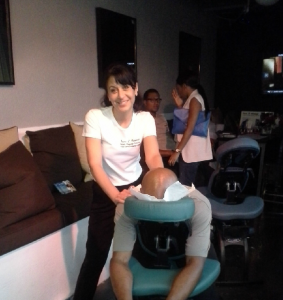 Event services.  Massage onsite for events in Atlanta, GA