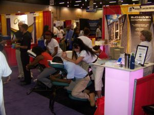 Trade show and convention massage in Atlanta, GA