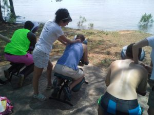 Corporate Chair Massage for events in Atlanta, GA