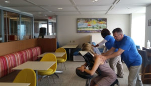 Chair Massage at offices and events, Atlanta, GA
