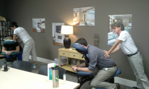 Corporate Chair Massage Moda Floors - Atlanta, GA