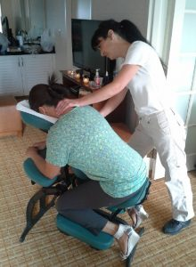 Chair massage for employee appreciation Atlanta
