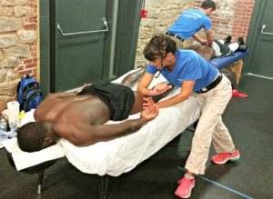 Massage at Sporting Events Atlanta, GA