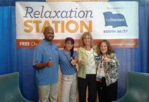 Convention massage services by Turn 2 Massage