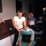 Chair massage onsite
