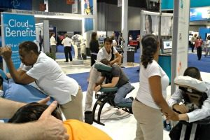 Atlanta Chair Massage for trade shows and conventions in Atlanta, GA