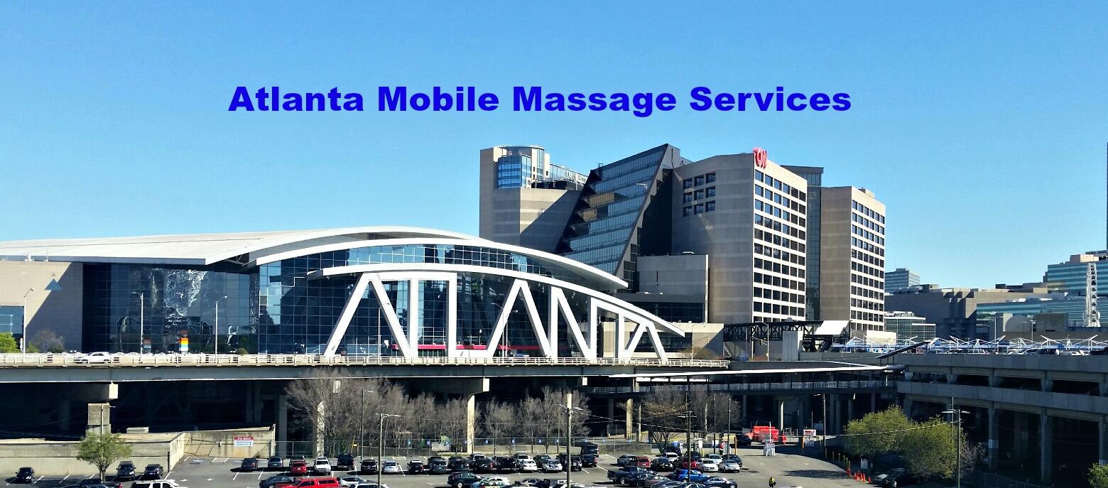 Atlanta Mobile Massage services. Chair Massage & Full body massage.