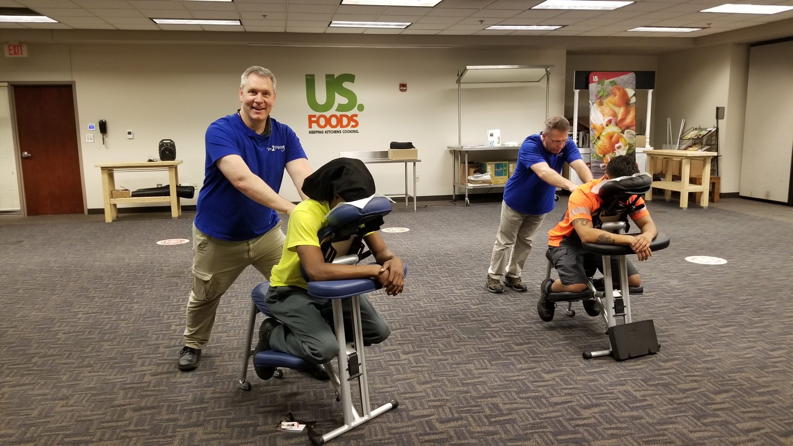 Chair Massage at the office and Event Massage in Atlanta
