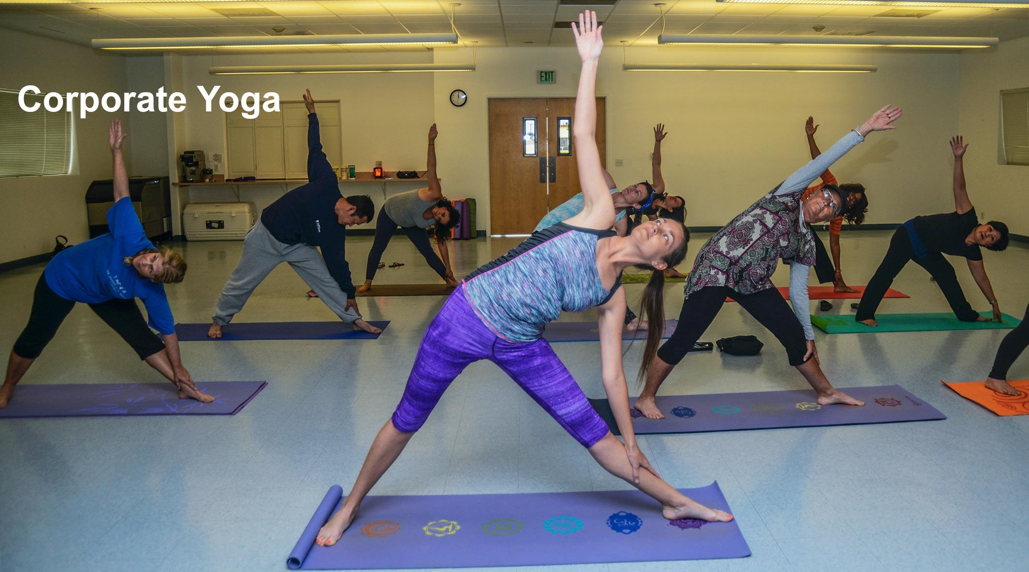 Corporate Yoga at Work, Office Yoga, Atlanta, GA