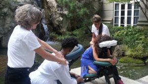 On-site chair massage in Atlanta, GA