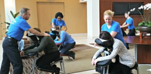 Chair massage is a corporate perk employees will love