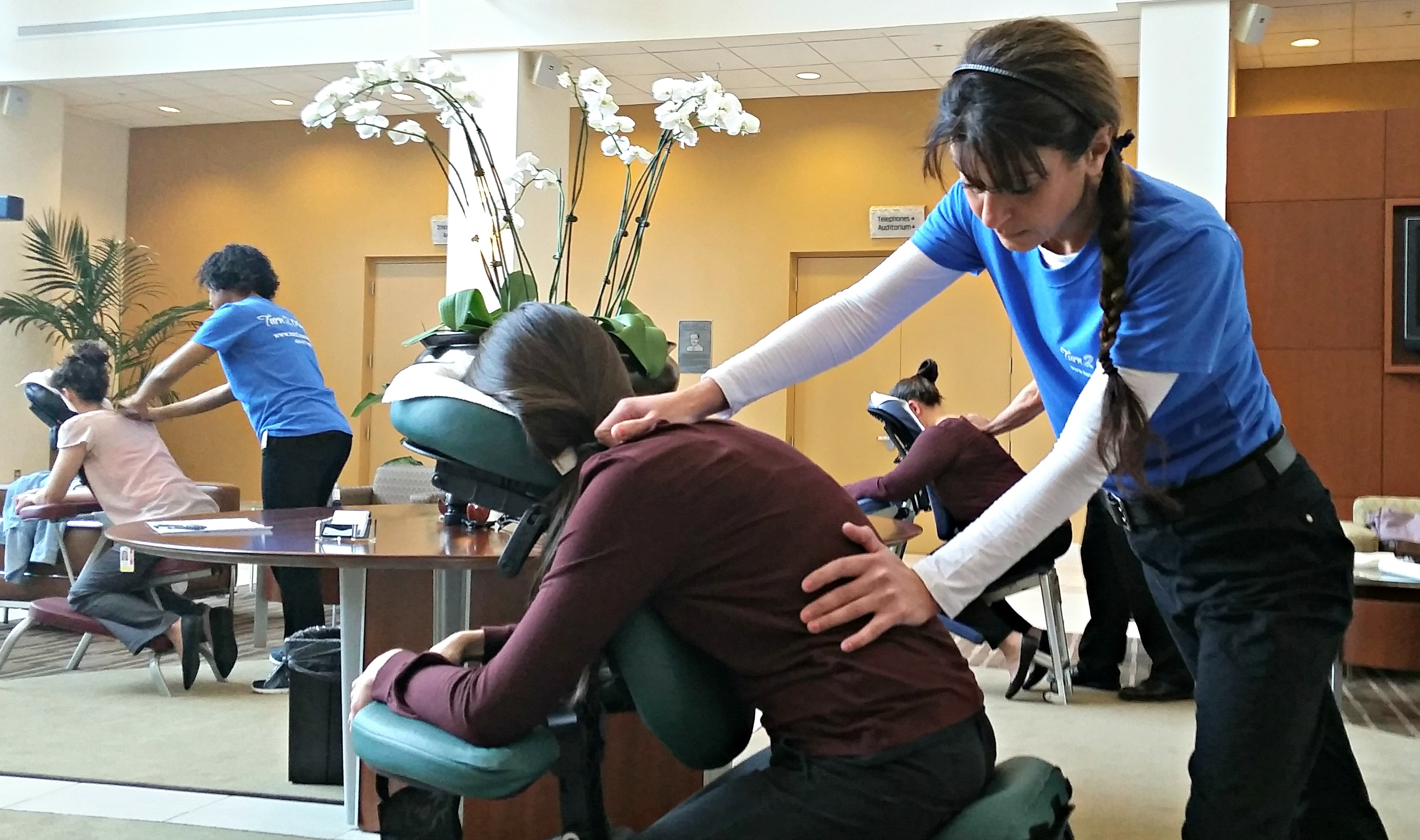 Mobile Chair Massage In Atlanta At Offices Amp Events