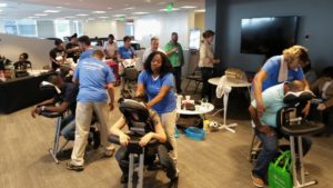 Health Fairs and Employee Wellness Events Chair Massage in Atlanta