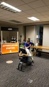 Chair Massage for Employee Appreciation Atlanta